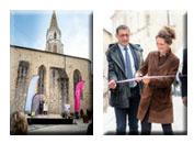 Inauguration du coeur de ville à Confolens