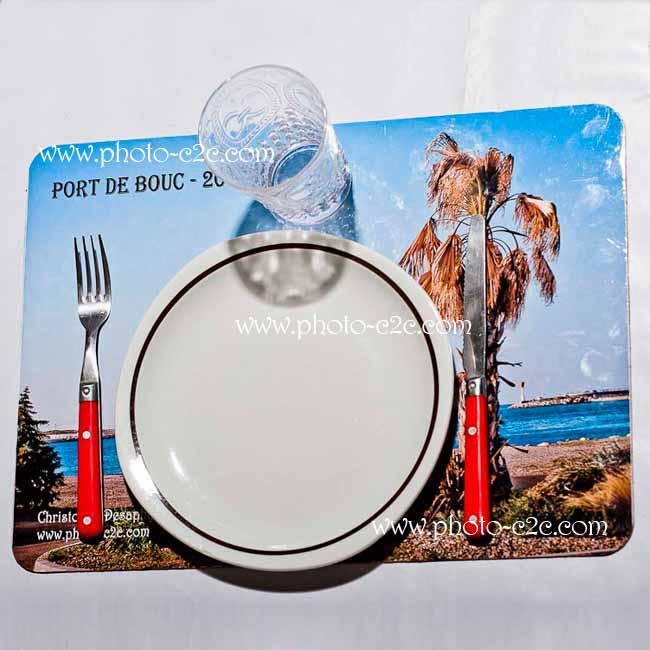 Set de table personnalis avec photo Set de table photo